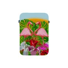 Flamingo Apple Ipad Mini Protective Soft Cases by Valentinaart