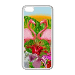 Flamingo Apple Iphone 5c Seamless Case (white)