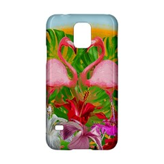 Flamingo Samsung Galaxy S5 Hardshell Case