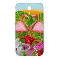 Flamingo Samsung Galaxy Mega I9200 Hardshell Back Case by Valentinaart