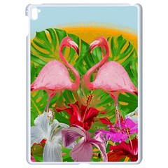 Flamingo Apple Ipad Pro 9 7   White Seamless Case