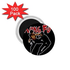 Kung Fu  1 75  Magnets (100 Pack)  by Valentinaart