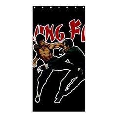Kung Fu  Shower Curtain 36  X 72  (stall)  by Valentinaart