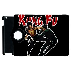 Kung Fu  Apple Ipad 2 Flip 360 Case by Valentinaart