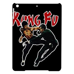 Kung Fu  Ipad Air Hardshell Cases by Valentinaart