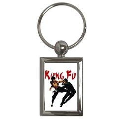 Kung Fu  Key Chains (rectangle)  by Valentinaart