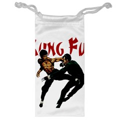 Kung Fu  Jewelry Bag by Valentinaart