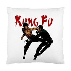 Kung Fu  Standard Cushion Case (two Sides) by Valentinaart