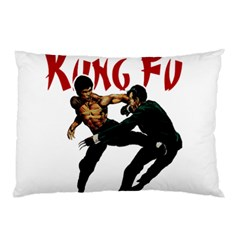 Kung Fu  Pillow Case (two Sides) by Valentinaart