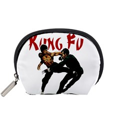 Kung Fu  Accessory Pouches (small)  by Valentinaart