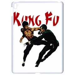 Kung Fu  Apple Ipad Pro 9 7   White Seamless Case by Valentinaart