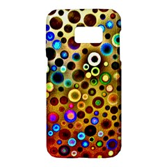 Colorful Circle Pattern Samsung Galaxy S7 Hardshell Case