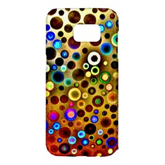 Colorful Circle Pattern Samsung Galaxy S7 Edge Hardshell Case by Costasonlineshop