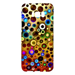 Colorful Circle Pattern Samsung Galaxy S8 Plus Hardshell Case  by Costasonlineshop
