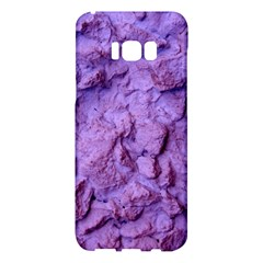 Purple Wall Background Samsung Galaxy S8 Plus Hardshell Case  by Costasonlineshop