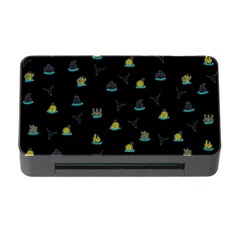 Cactus Pattern Memory Card Reader With Cf by ValentinaDesign