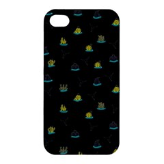 Cactus Pattern Apple Iphone 4/4s Premium Hardshell Case by ValentinaDesign