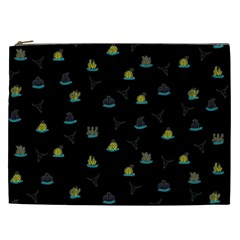 Cactus Pattern Cosmetic Bag (xxl)  by ValentinaDesign