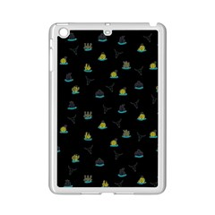 Cactus Pattern Ipad Mini 2 Enamel Coated Cases by ValentinaDesign