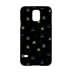 Cactus Pattern Samsung Galaxy S5 Hardshell Case  by ValentinaDesign