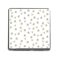 Cactus Pattern Memory Card Reader (square) by ValentinaDesign