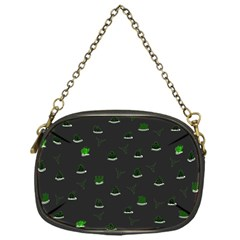 Cactus Pattern Chain Purses (one Side)  by ValentinaDesign