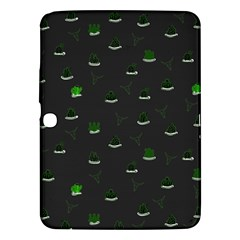 Cactus Pattern Samsung Galaxy Tab 3 (10 1 ) P5200 Hardshell Case  by ValentinaDesign