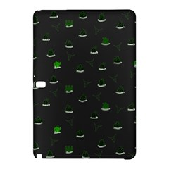 Cactus Pattern Samsung Galaxy Tab Pro 10 1 Hardshell Case by ValentinaDesign