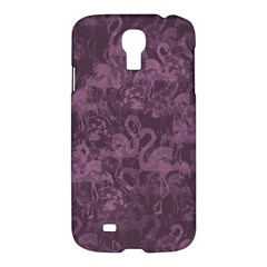 Flamingo Pattern Samsung Galaxy S4 I9500/i9505 Hardshell Case by ValentinaDesign