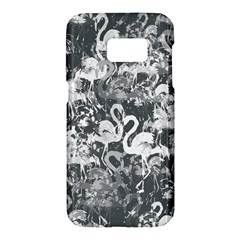 Flamingo Pattern Samsung Galaxy S7 Hardshell Case  by ValentinaDesign