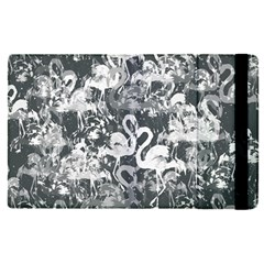 Flamingo Pattern Apple Ipad Pro 9 7   Flip Case by ValentinaDesign