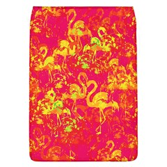 Flamingo Pattern Flap Covers (l)  by ValentinaDesign