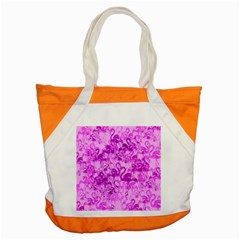 Flamingo Pattern Accent Tote Bag by ValentinaDesign
