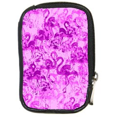 Flamingo Pattern Compact Camera Cases by ValentinaDesign
