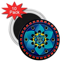 Abstract Mechanical Object 2 25  Magnets (10 Pack)