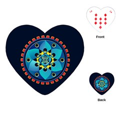Abstract Mechanical Object Playing Cards (heart)