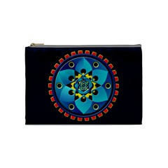 Abstract Mechanical Object Cosmetic Bag (medium)  by linceazul