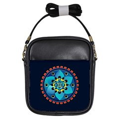 Abstract Mechanical Object Girls Sling Bags