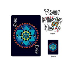 Abstract Mechanical Object Playing Cards 54 (mini)