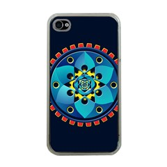 Abstract Mechanical Object Apple Iphone 4 Case (clear)