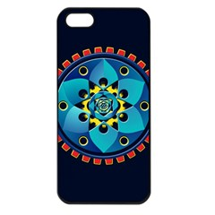 Abstract Mechanical Object Apple Iphone 5 Seamless Case (black)