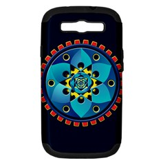 Abstract Mechanical Object Samsung Galaxy S Iii Hardshell Case (pc+silicone)