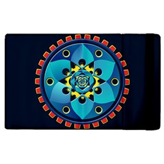 Abstract Mechanical Object Apple Ipad 2 Flip Case