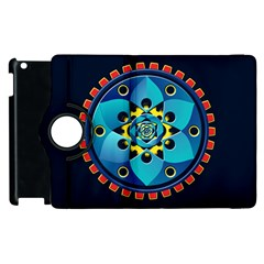 Abstract Mechanical Object Apple Ipad 2 Flip 360 Case by linceazul