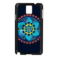 Abstract Mechanical Object Samsung Galaxy Note 3 N9005 Case (black)