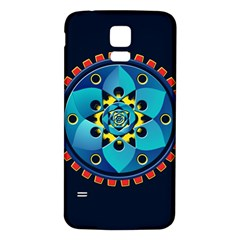 Abstract Mechanical Object Samsung Galaxy S5 Back Case (white)