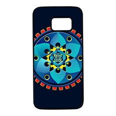 Abstract Mechanical Object Samsung Galaxy S7 Black Seamless Case
