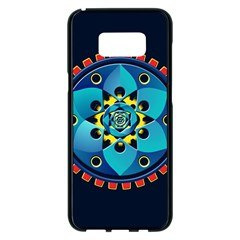 Abstract Mechanical Object Samsung Galaxy S8 Plus Black Seamless Case