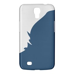Blue White Hill Samsung Galaxy Mega 6 3  I9200 Hardshell Case by Mariart