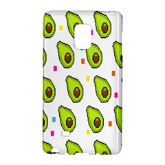 Avocado Seeds Green Fruit Plaid Galaxy Note Edge by Mariart